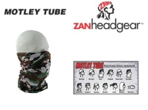 Zan HeadGear Motley Tube Facemask 2014 PURPLE PAISLEY Boys Kids Girls Child Warm