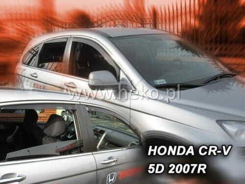 Honda CR-V 02//2007-2012 5 puertas de viento desviadores 4.pc Heko 17142