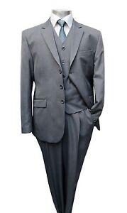Herren-Anzug-3-teilig-Muga-Gr-27-Grau