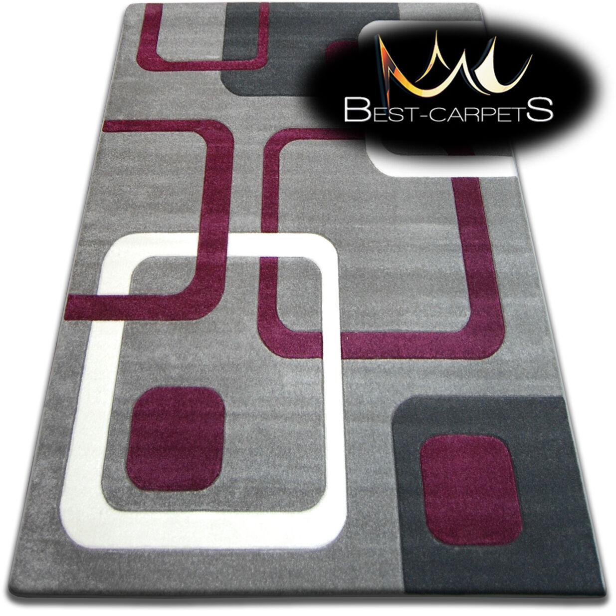 Design moderne très doux tapis focus F240 qualité grande taille s épais qualité F240 sculpté 5371c1