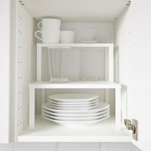 IKEA VARIERA Large or Small Shelf Insert White Steel For Extra Storage Space UK
