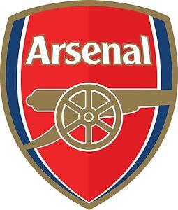 ARSENAL Logo Soccer Football Vinyl Sticker Indoors Outdoors