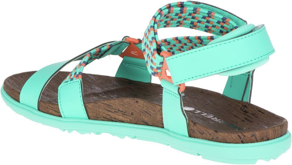 MERRELL Around Town Sunvue Woven J94152 Outdoor Outdoor Outdoor Casual Travel Sandals Womens New 15acb3