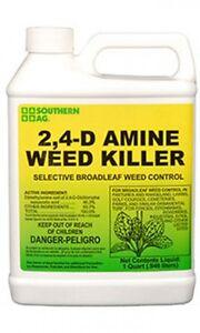 Southern-Ag-2-4-D-Amine-Herbicide-32-oz-Quart-Selective-Broadleaf-Weed-Killer