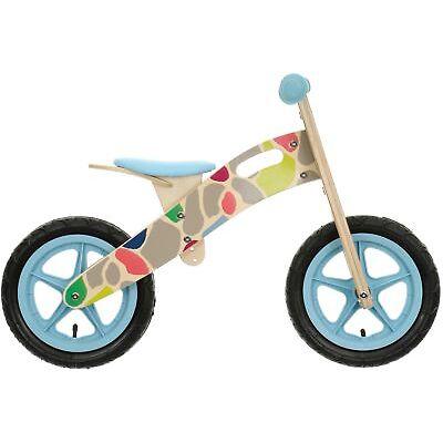 "Apollo Wooden Giraffe Balance Bike Bicycle 12"" Wheels Wood Frame Age 3-5"