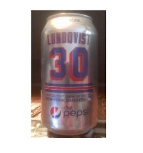 1 Henrik Lundqvist 30 New York Rangers Limited Edition Diet Pepsi