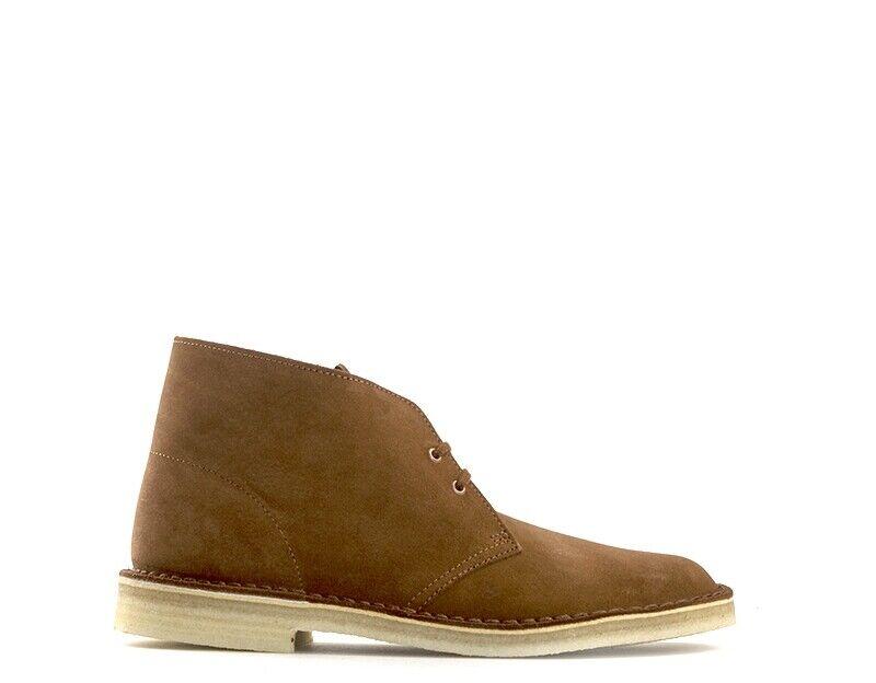 zapatos CLARKS Homme TAN en daim 118547