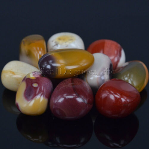 Polished Freefrom Tumbled Natural Mookaite Stone For Crystal Healing Wicca