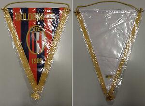 Collezionismo-Sport-Calcio-Vintage-039-80-Gagliardetto-Originale-Ufficiale-BOLOGNA