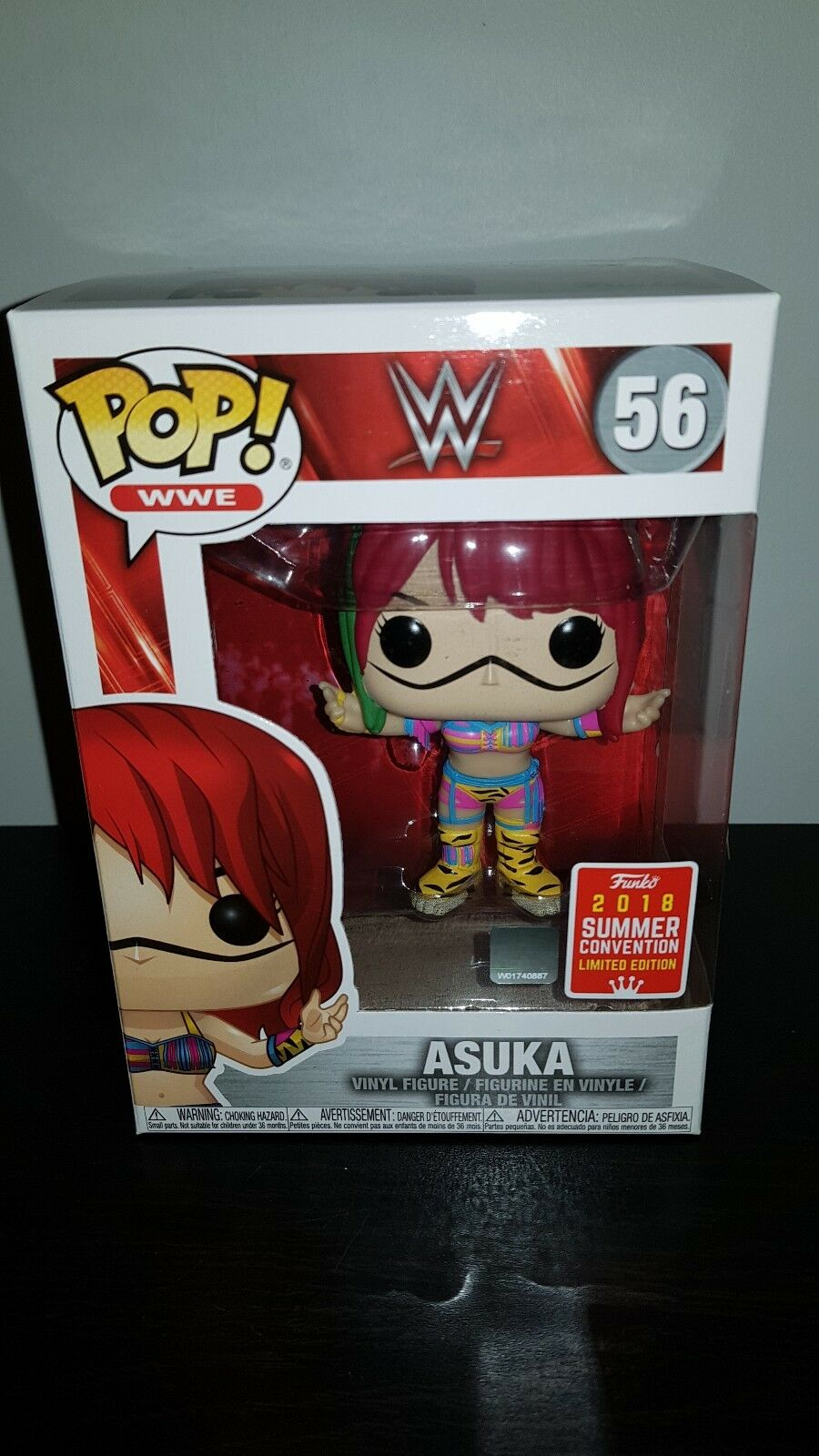 WWE Asuka Funko Pop 2018 SDCC Summer Convention