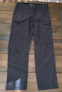 Zeroxposur Hombres Todo Terreno Ligero Upf 50 Pantalones Ajustados Gris Talla 30 X 30 Ebay