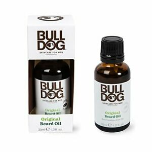 Bulldog-Skincare-Original-Beard-Oil-1-fl-oz-30-ml-Aloe-Green-tea-NIB