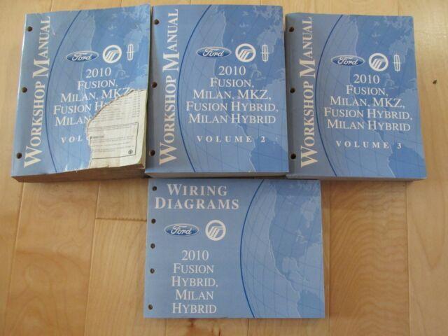 2010 Fusion Milan   Hybrid Mkz Service Repair Shop Manuals