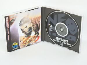 FATAL-FURY-3-Ref-ccc-Neo-Geo-CD-Neogeo-SNK-Japan-nc