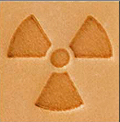 1/2 Inch Craftool Mini 3D Stamp Radioactive Tandy Leather 8818-00  New 2017