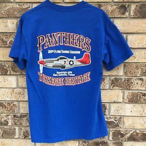 Panthers-100th-Flying-Squadron-Mens-Tshirt-Shirt-Randolph-AFB-Tuskegee-Heritage