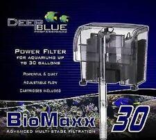 Deep Blue Professional BIOMAXX 30 GALLON Aquarium POWER FILTER