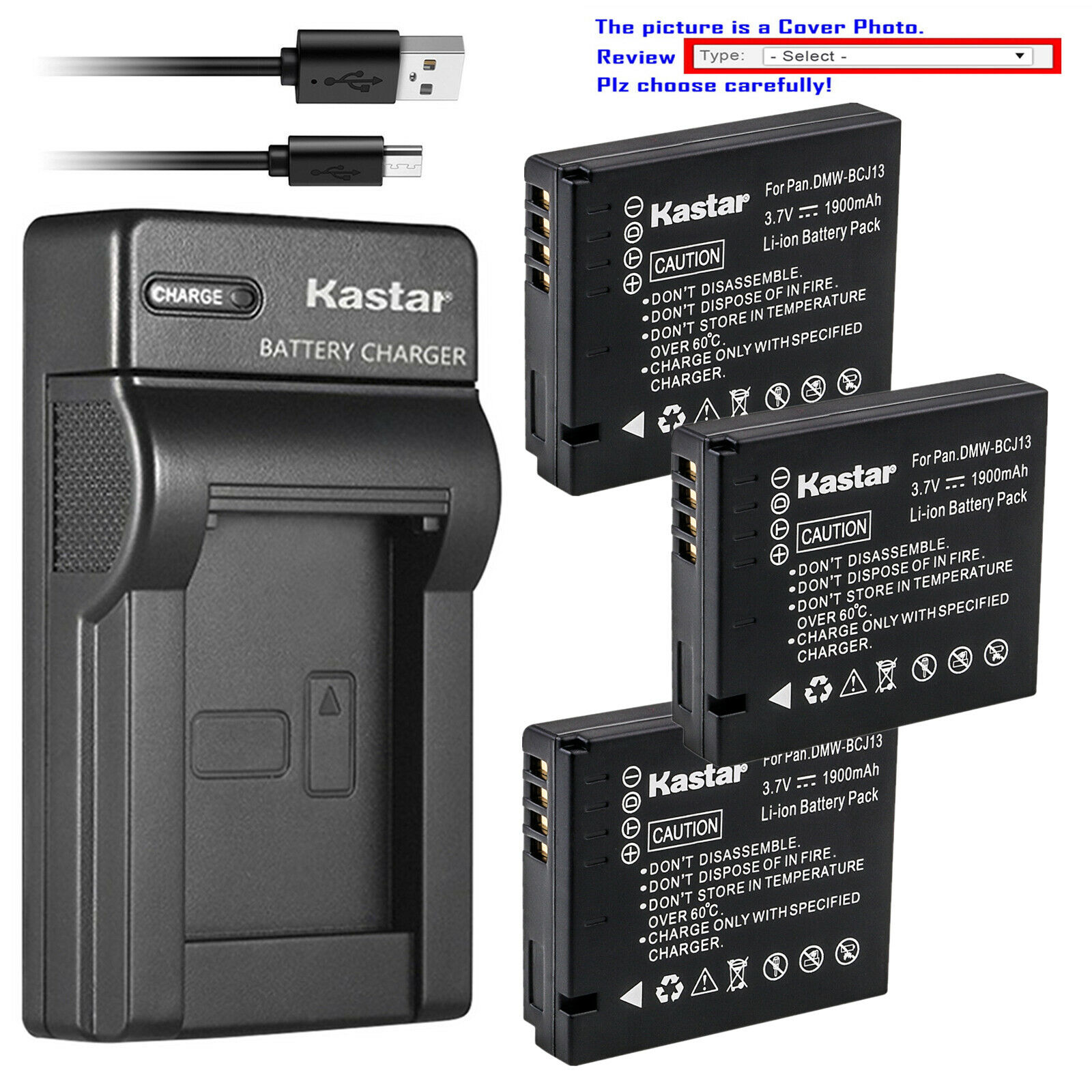 Premium Batería Para Panasonic Dmw-bcj13 Lumix Dmc-lx7w Lumix Dmc-lx7 Nuevo