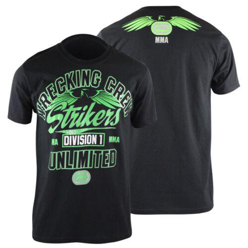 bjj ufc MMA mens Ecko MMA Mens Wrecking Crew T-Shirt Black