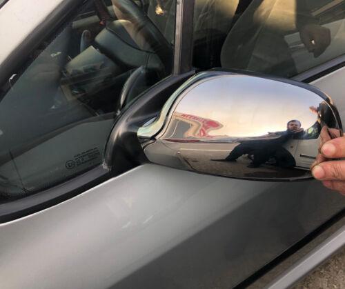 Peugeot 407 2004-2010 Rétroviseur Chrome Housse 2 pièces en acier inoxydable