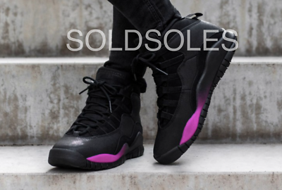 Nike Air Jordan 10 Ereditiera Nero/fucsia Gs-mostra Il Titolo Originale Per Prevenire E Curare Le Malattie