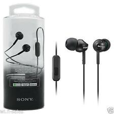 Sony Original MDR-EX15AP earphone with Mic Headset (BLACK)1year Sony Wrrnty SMP4