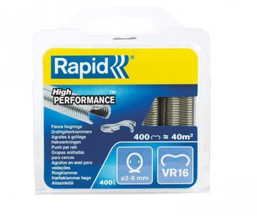 40108796 -... VR16 Rapid High Performance Galvanised Fence Hog Rings 2-8 mm