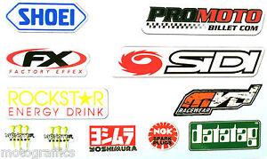 Motorcycle-Colour-Laminated-Swingarm-Frame-Stickers-MX-Sport-1-x-sheet-Set-Four