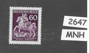 MNH-Third-Reich-stamp-Stamp-day-Collecting-WWII-Occupation-BaM-1943