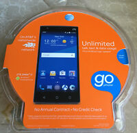 (brand New) Zte Zmax 2 Z958 16gb Black (gsm Unlocked) At&t Android Smartphone