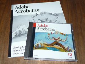 Adobe Acrobat 5.0 für Mac englische Vollversion