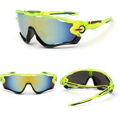 Men's Cycling Sport Sunglasses Bike Glasses Goggles Bicycle Riding Eyewear UV400