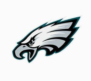 "Philadelphia Eagles NFL Vinyl Decal Sticker Reflective OFFICIAL NFL 3"" Decal"