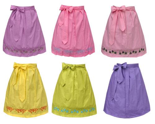 Dirndlschürze Schürze fürs Mini Dirndl Baumwolle 60 cm verschiedene Modelle