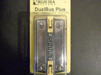 """Blue Sea 2722 DualBus Plus 150A BusBar 1//4/""""-20 Stud 5 Gang Marine Boat"""