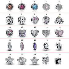 BAMOER Optional Fine Authentic S925 Sterling Silver Charm Fit European Bracelets