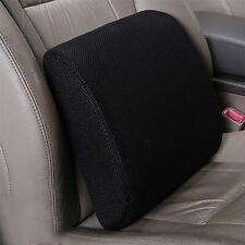 Lumbar Cushion Back Support Travel Pillow Memory Foam Car Seat Home Office Chair