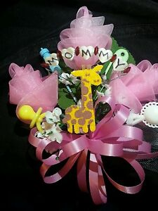 Image Is Loading Baby Shower MOMMY Giraffe Corsage Boy Or Girl