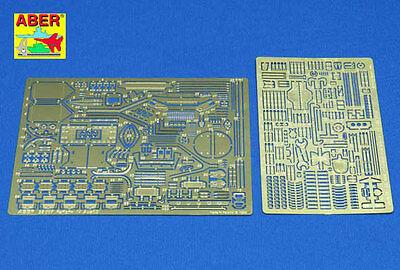 ABER 1/35 PHOTO-ETCHED DETAIL SET for TAMIYA Pz.Kpfw.IV PANZER IV Ausf.D #35096
