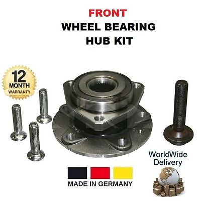 FOR SKODA OCTAVIA 1.4 1.6 1.8 1.9 2.0 1996-2010 2x FRONT WHEEL BEARING HUB KITS