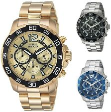 'Invicta Men's Pro Diver Chronograph 45 mm Watch - Choice of Color' from the web at 'https://i.ebayimg.com/images/g/mRUAAOSwNkJaHKIR/s-l225.jpg'