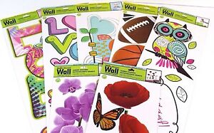 Removable Jumbo Wall Stickers By Main Street Wall Creations New Select Design Ebay