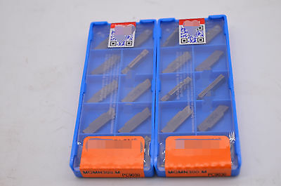 20PCS MGMN300-M PC9030 3mm Carbide Insert for MGEHR//MGIV​R Grooving Cut-off Tool