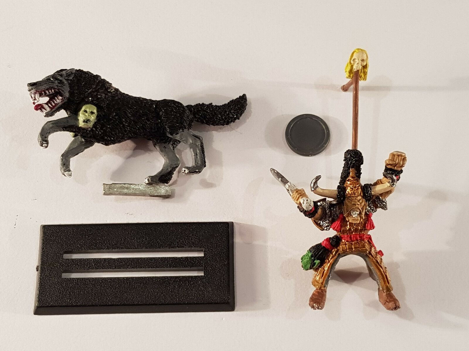 GW Warhammer FB Dogs of War Hobgoblin Wolf Rider Ghazak Khan Terror of the East