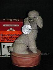 +# A015818_05 Goebel Archiv Plombe Hund Dog Pudel Poodle auf Podest 30-204