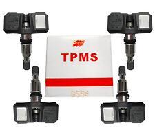 NEW Set of 4 Orange TPMS Tire Pressure Monitoring  Sensor  SCG00A  28103AG00A