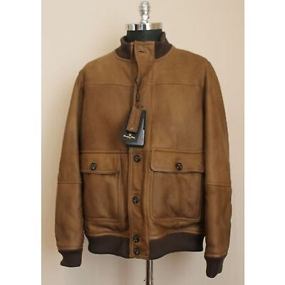 MASSIMO DUTTI LIMITED EDITION DOUBLE-SIDED LEATHER JACKET   MADE EUROPE   $ 1399