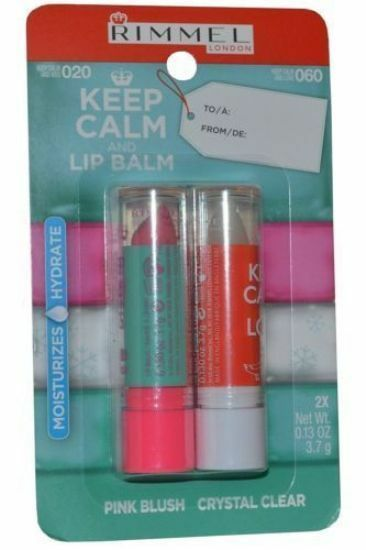 Rimmel Keep Calm and Kiss Lip Balm, 020 Pink Blush, 0.13 oz Colorescience Pro Setting Mist - Hydrating 4 oz