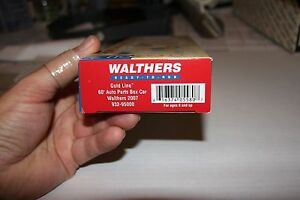 WALTHERS-SPECIAL-EDITION-75TH-ANNIVERSARY-CAR-FROM-2007-NEW