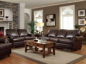 Astonishing Details About Ramona Traditional Brown Bonded Leather Sofa Couch Set Living Room Furniture Uwap Interior Chair Design Uwaporg